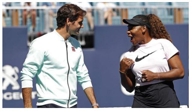 Serena Williams &Roger Federer snap
