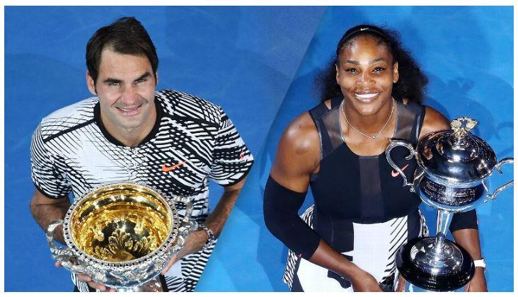 Serena Williams & Roger Federer