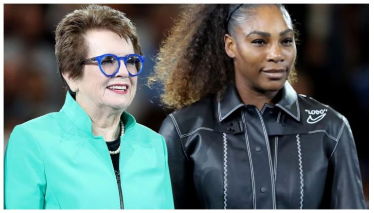 Serena Williams and Billie Jean