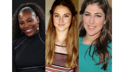 Serena Williams and Mayim