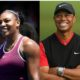 Serena Williams and Tiger Woods
