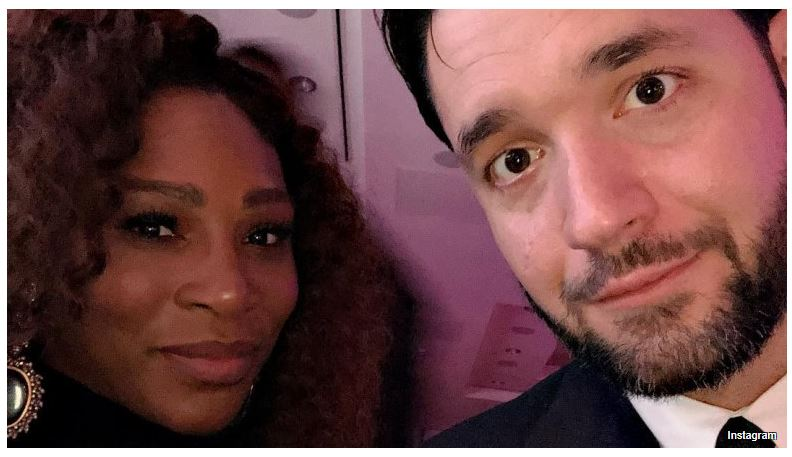Serena Williams and husband look