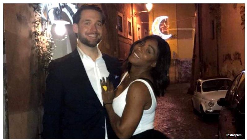 Serena Williams and husband rock