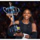 Serena Williams lift trophy