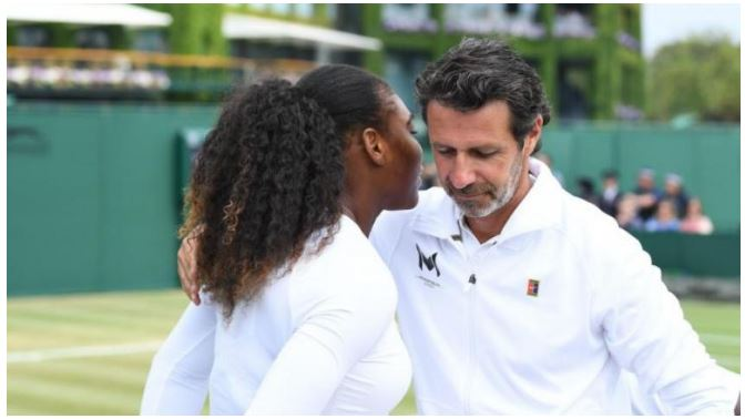Serena Williams coach