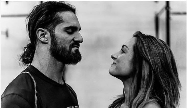 Seth Rollins and Becky Lynch look
