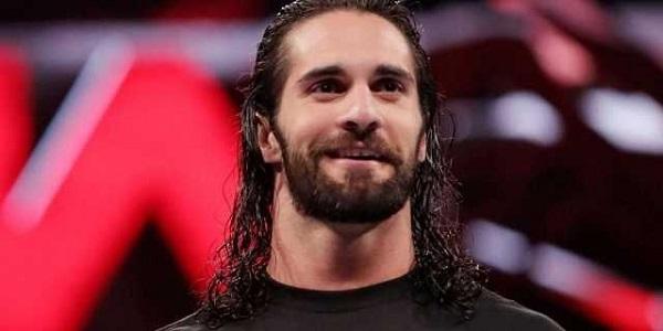 Seth Rollins smiles