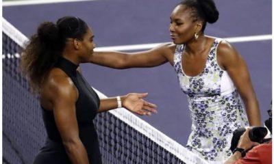 Venus with Serena williams
