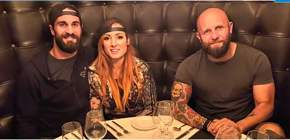 becky lynch and friends