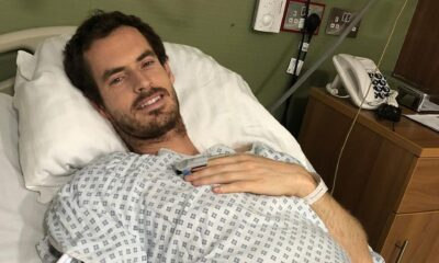 Andy Murray hospitalized