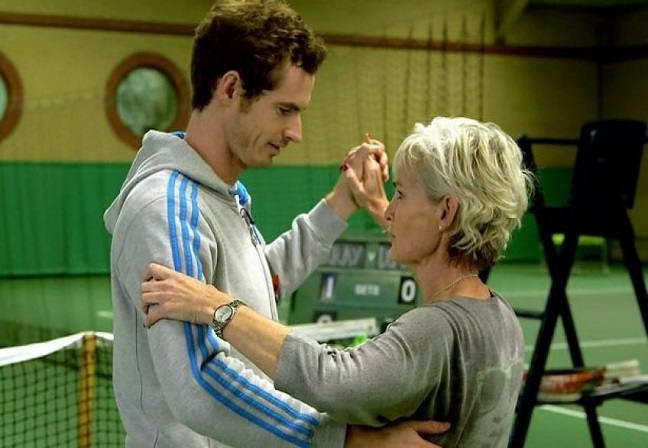 Andy Murray blew me away says Mother Judy