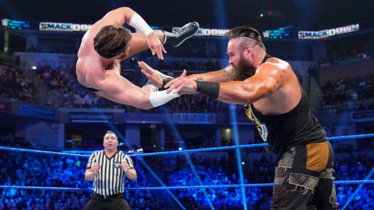 Braun Strowman in action