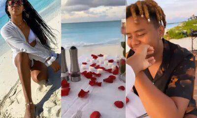 Naomi Osaka and American rapper and singer Cordae Amari Dunston