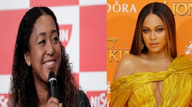 Naomi Osaka and Beyonce