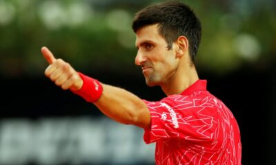 Novak Djokovic in Roland Garros