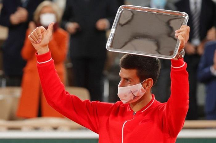 Novak Djokovic in Roland Garros