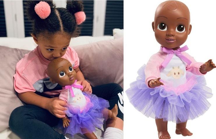 Olympia Ohanian and Qai Qai Doll