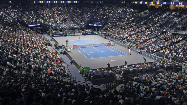 Rolex Paris tennis court