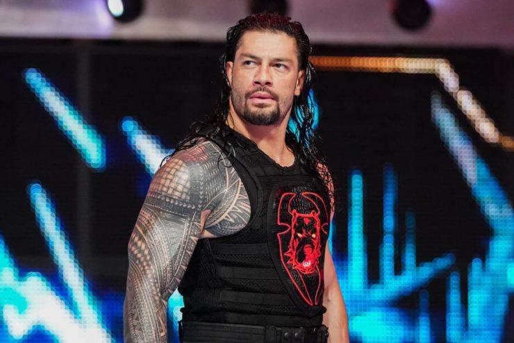Roman Reigns physique