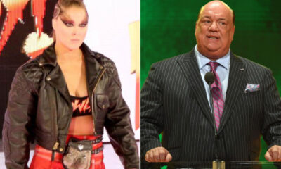 Ronda Rousey and Paul Heyman