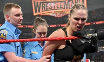 Ronda Rousey cuffed