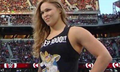 Ronda Rousey smiles