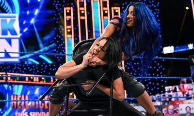 Sasha Banks Tortures Bayley With A Chair