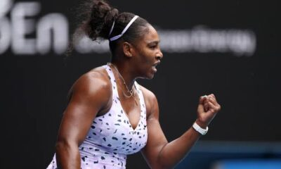 Serena Williams Victory Shout