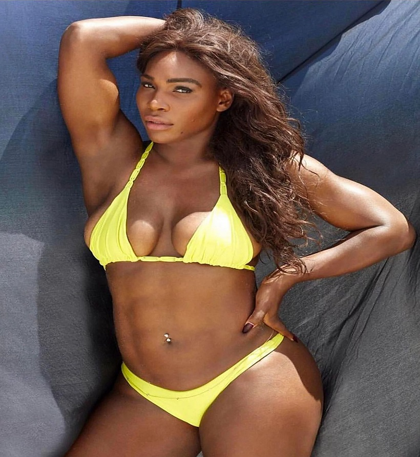 Serena Williams Shares Sexy Swimsuit Photo on Instagram