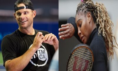 Serena Williams and Andy Roddick