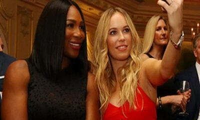 Serena Williams and Caroline Woznicki are great friends