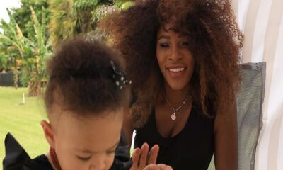 Serena Williams and Daughter