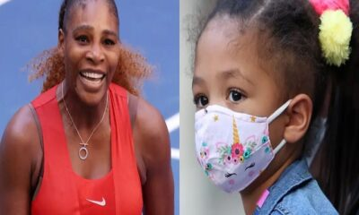 Serena Williams and Olympia Alexis
