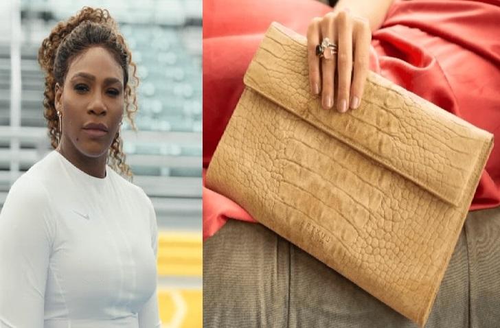 Serena Williams and Vegan Bag