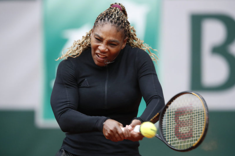 French serena williams at RG Open