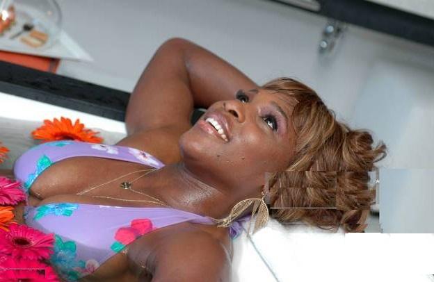 Serena Williams bathtub