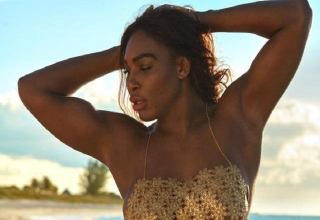 Serena Williams near