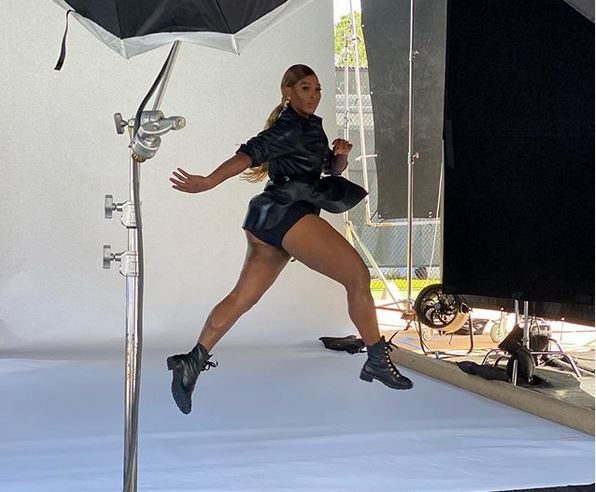 Serena Williams shares photo