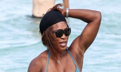 Serena Williams sneaks into wedding