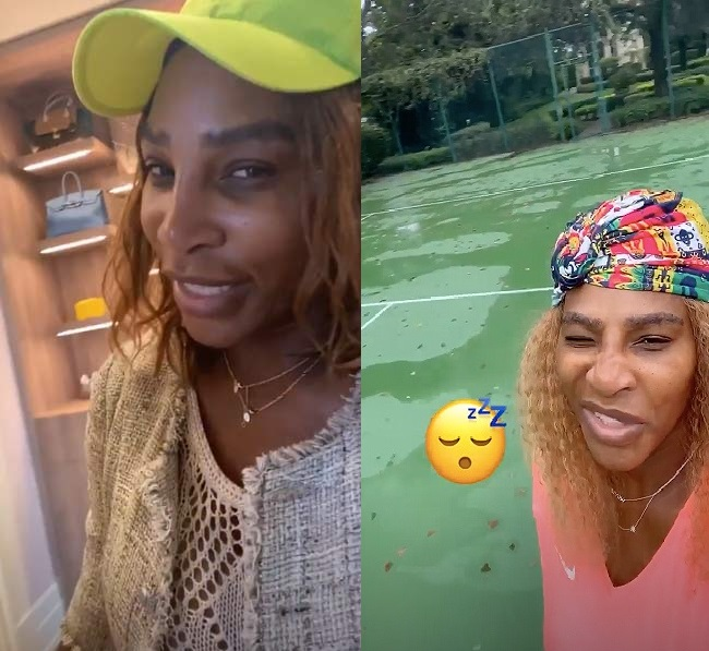 Serena shared a peek into the stunning space