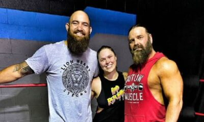 ronda rousey trains with IMPACT legend