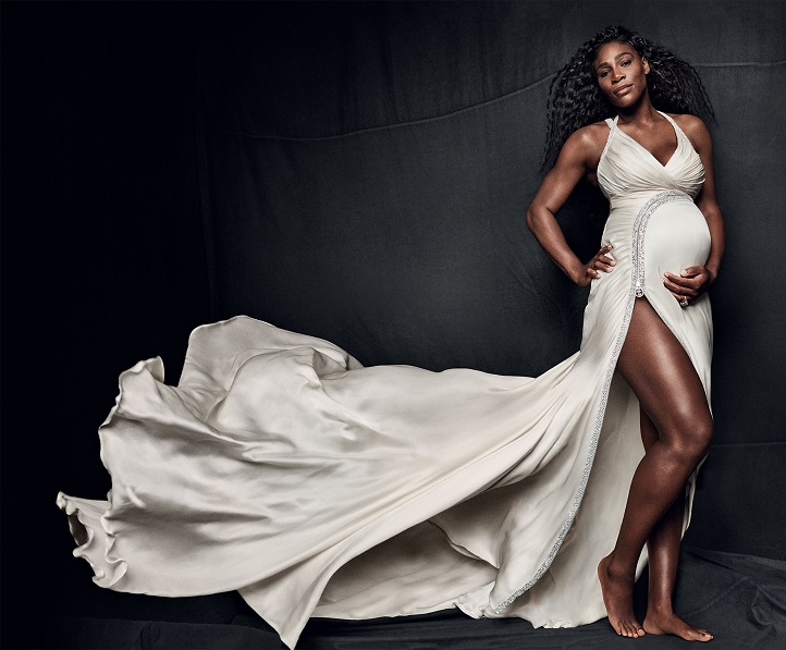 serena williams pregnant
