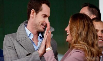 Andy Murray and Kim Sear