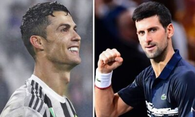 Cristiano ronaldo and Novak Djokovic