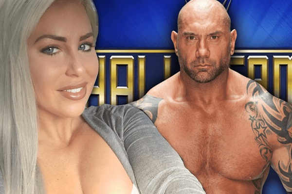Dave Bautista and WWE Dana Brooke are dating