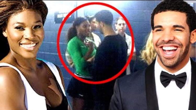 Drake, Serena Williams Caught Kissing After Her WTA Victory