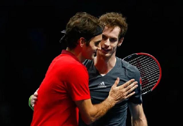 Federer thrashed Murray