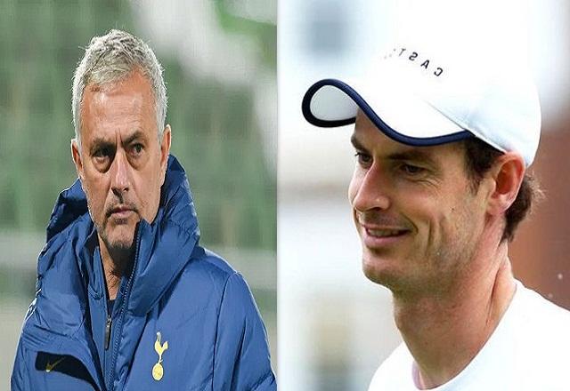 Mourinho comforted Andy Murray