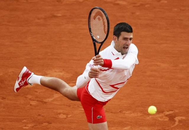 Novak Djokovic in white