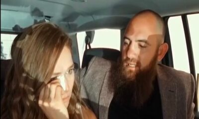 Ronda Rousey and her husband Travis Browne